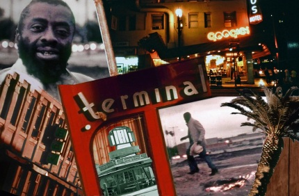 """Terminal Bar,"" photocollage by Stephen Seemayer and Pamela Wilson, 2013"