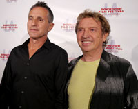 Tour producer Arthur Fogel and Andy Summers of The Police attend the Downtown Film Festival L.A. / Photo by Kryiaki Ross