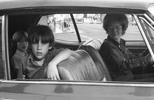 People in Cars, North Hollywood, 1970 by Mike Mandel.